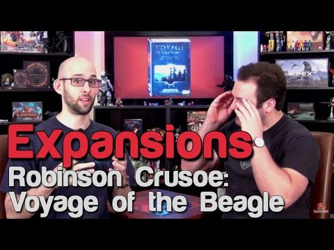 Robinson Crusoe: Voyage of the Beagle | Roll For Crit Expansions