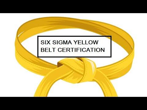 Six Sigma Yellow Belt Certification Answers - YouTube