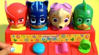 PJ Masks Pop Up Surprise Toys Yowie Learn Colors Learn Numbers