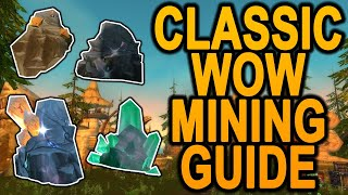 The BEST All-In-One Mining Guide - 1-300 Profession Guide - Classic WoW - World of Warcraft Vanilla