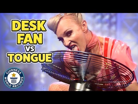 Can You Stop a Fan with Your Tongue?