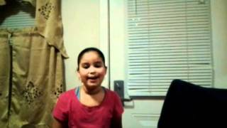 Hennessy Rodriguez singing So I Cried by Anna Gracemen