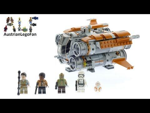 Vidéo LEGO Star Wars 75178 : Le Quadjumper de Jakku