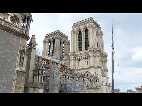 Notre-Dame de Paris: nouvelle étape du chantier