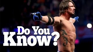10 AMAZING Facts About AJ Styles I'm Sure You Didn't Know!! (Unique Facts!)