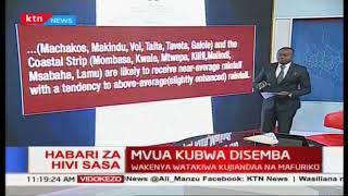 Mvua kubwa disemba :Wakenya watakiwa kujiandaa na mafuriko