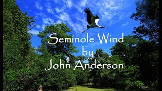 Everglades   Seminole Wind  By John Anderson