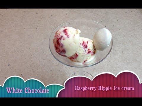 Video White Chocolate Raspberry Ripple Ice Cream Cheekyricho Tutorial