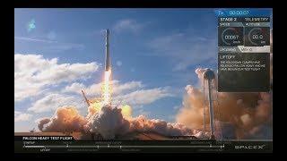 🚀Запуск Falcon Heavy 2018 на орбиту Марса 06.02.18 Илон Маск Фалькон   SpaceX   6 февраля