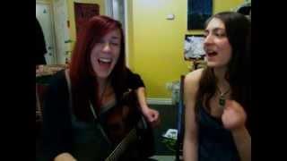 Feist - Leisure Suite (One-take cover - Jessica Stuart & Jocelyn Barth)