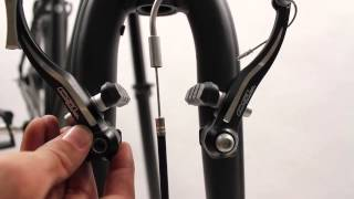 Extraction installation etriers vbrakes velo