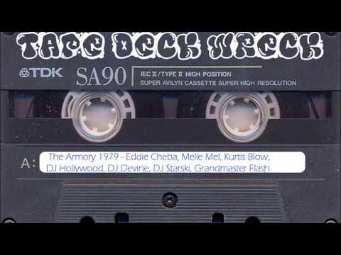 The Armory 1979 – Melle Mel Kurtis Blow DJ Starski Grandmaster Flash (restored)