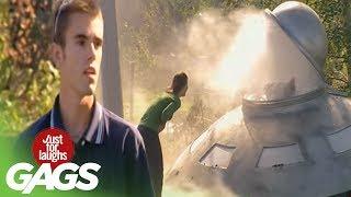 JFL Gags Flying Saucer Video