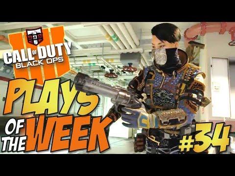 WOW!! - Call of Duty Black Ops 4 PLAYS OF THE WEEK #34