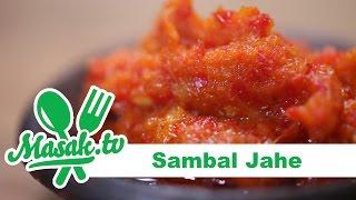 Sambal Jahe