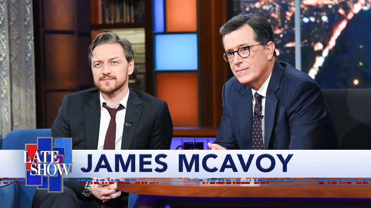James McAvoy Plays Stephen Colbert's Lightning Round thumbnail
