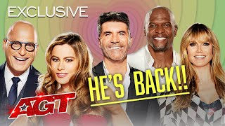 Simon Cowell is BACK! - America's Got Talent 2021 thumbnail