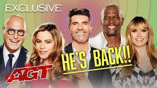 Simon Cowell is BACK! - America's Got Talent 2021 thumbnail