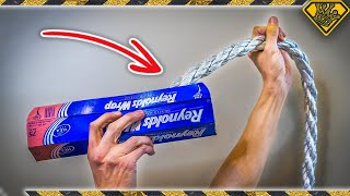 Can You Make a Rope with Aluminum Foil?