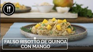 Falso risotto de QUINOA con mango | Directo al Paladar