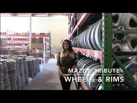 Factory Original Mazda Tribute Wheels & Mazda Tribute Rims – OriginalWheels.com