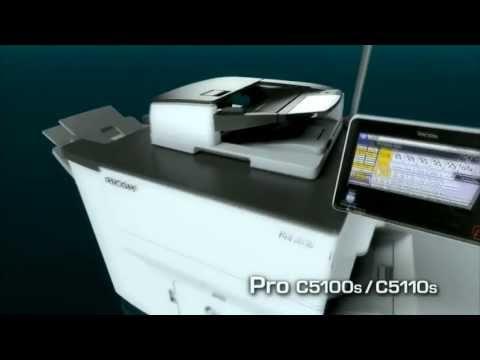 Ricoh Pro C5100 Digital Production Printer