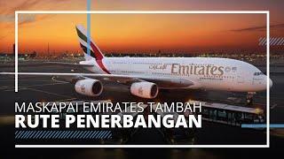 Emirates Tambah Rute Penerbangan ke 10 Kota, Barcelona dan Washington Masuk Daftar
