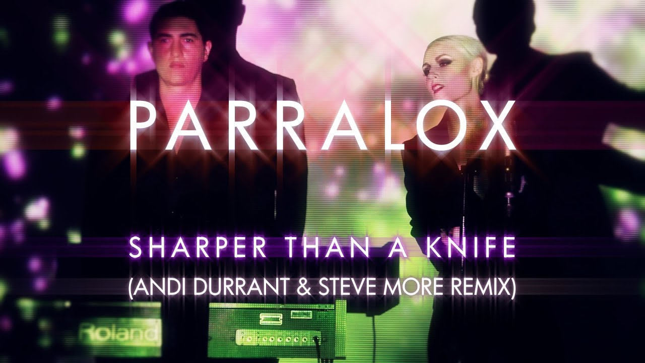Parralox - Sharper Than A Knife (Andi Durrant & Steve More Remix) (Music Video)