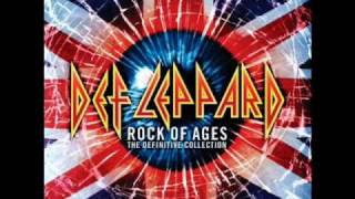 def leppard - rock of ages (lyrics)