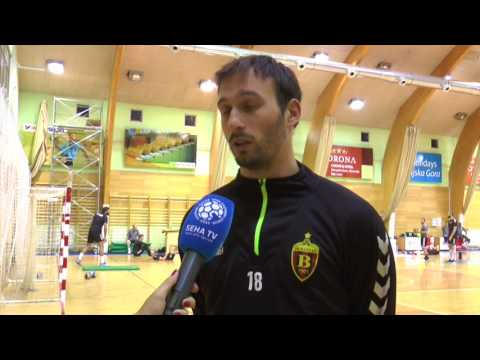 Igor Karacic pre-season interview (Vardar)