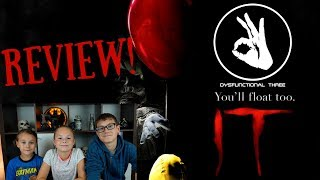 IT - Movie Review!!! Kids Review It!!!