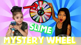 Mystery Wheel of DUMP IT Slime Challenge with Switch Up!!!