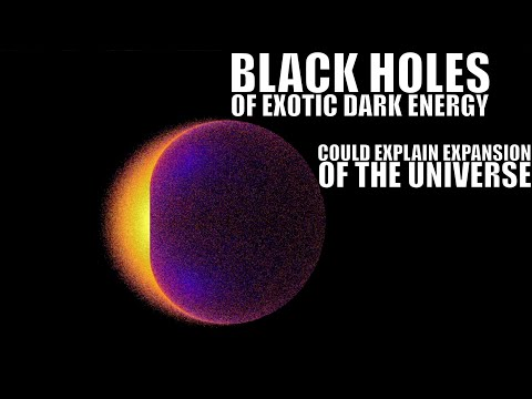 Theory Suggests 1 in 100 Blackholes Are Made of Exotic Dark Energy