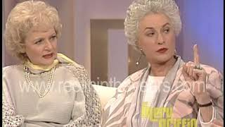 Golden Girls on Merv Griffin Show (11/5/85)