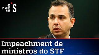 Pacheco é aconselhado a engavetar impeachment de ministros do STF