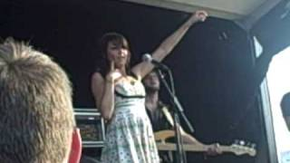 """Charlotte Sometimes- """"How I could just kill a man"""" live  7/28/2008 warped"""