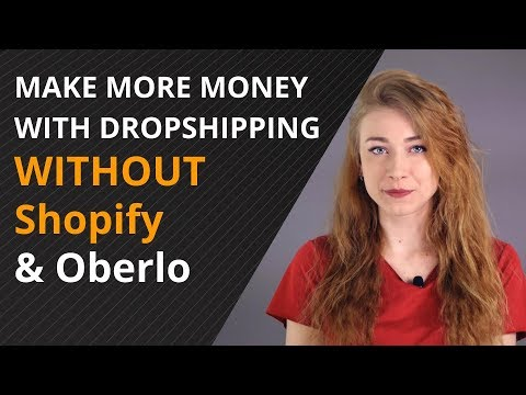 How to make money with dropshipping WITHOUT Shopify