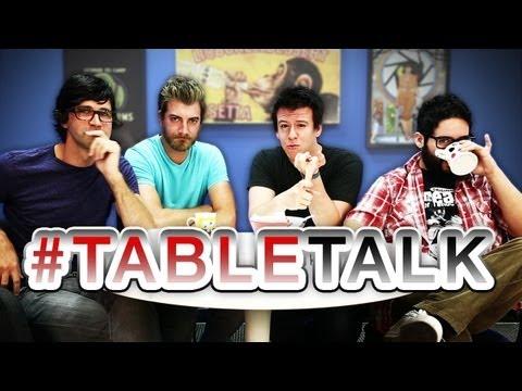 Rhett And Link talk TV Moms and Portal Guns on #TableTalk!