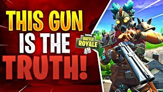THIS GUN IS THE TRUTH! Feat. GronKy (Fortnite Battle Royale)