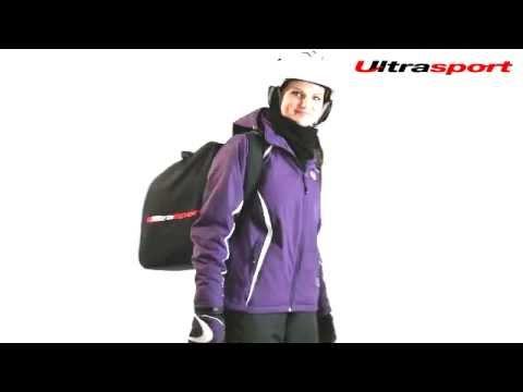 Ultrasport Multifunktionsjacke Mayrhofen mit Skischuhtasche