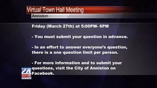 AnnistonVirtual Town Hall Meeting