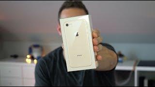 Apple iPhone 8 GOLD! Unboxing & Ersteindruck | deutsch