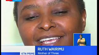 Ruth Wairimu has Congenital Disorder which means she is physically challenged