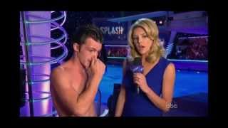 <b>Drake Bell</b> Loses It On ABCs Splash