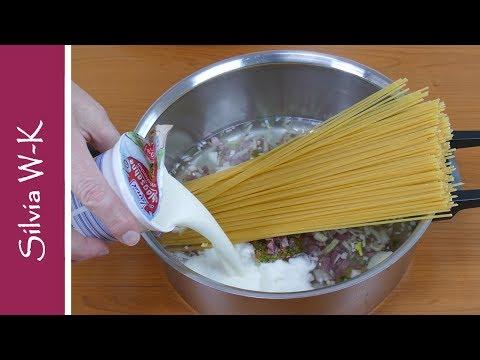 Spaghetti / One Pot Wonder / Spaghettigericht / schnell kochen / einfach