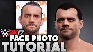 WWE 2K17: How to Import Your Face Photo (Video Tutorial)
