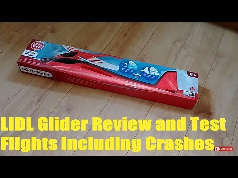 lidl-glider-review-and-test-flights-including-crashes