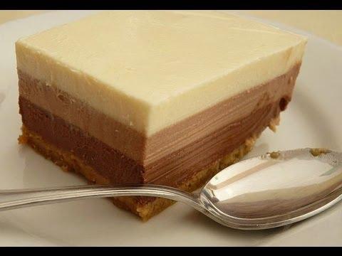 Receta: Torta 3 Chocolates Casera (Muy Facil) - Silvana Cocina Y Manualidades