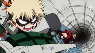 Boku no hero season 3[ Bakugo and kaminari and kirishima]{full fight}