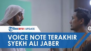 Voice Note Terakhir Syekh Ali Jaber untuk Arie Untung Hancurkan Hatinya: Baru Buka saat Beliau Tiada